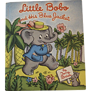 1944 Little Bobo and His Blue Jacket by Tony Brice Illustrated Children's Book