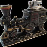 Vintage Ceramic Railroad Lighter