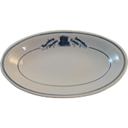 Harrisburg Masonic Temple Association Restaurant Ware Dish by Syracuse China Masons Masonry Freemasons Freemasonry Mason