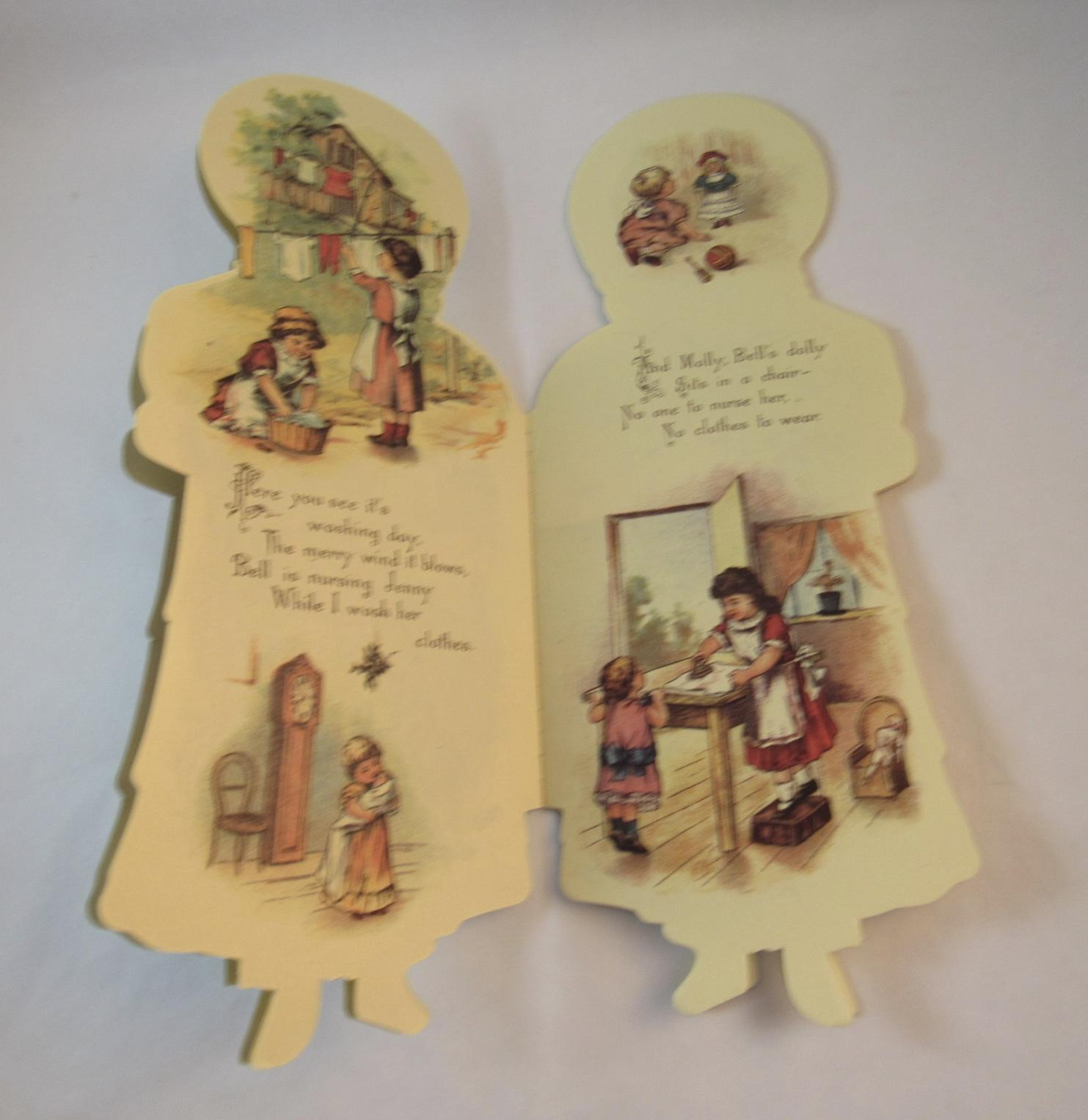 Only A Doll By Helen Marion Burnside Doll Book From