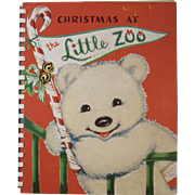 Pop Up Book Christmas at the Little Zoo by Beth Vardon Illustrated by Charlot Byi