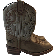 Childs Cowboy Boots by Dyna Kids Size 9 DynaKids Dyna-Kids