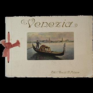 Venezia Color Prints Souvenir Book Venice Italy Ricordo di Venezia