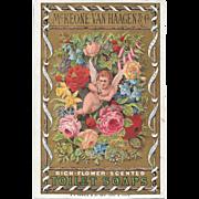 Victorian Cupid Trade Card Cupid Flower Scented Toilet Soaps by McKeone Van Haagen & Co