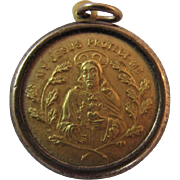 My Jesus and Mary Religious Catholic Relief Medal Pendant Protect Me