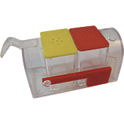 Retro Mailbox Salt and Pepper Shaker and Toothpick Holder Set