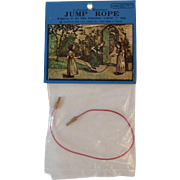 Shackman Kate Greenaway Doll Jump Rope in Original Package