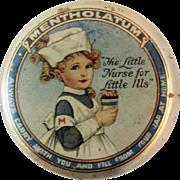 Mentholatum Little Nurse for Little Ills Tiny Tin Litho Graphics