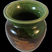 Royal Haeger Earth Wrap and Orange Peel Art Pottery Vase Mid Century Modern MCM
