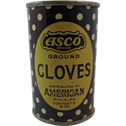 Asco Cloves Tin American Spice Co