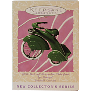 Hallmark Murray 1935 Steelcraft Streamline Velocipede Christmas Ornament 1997 Sidewalk Cruiser Series Keepsake