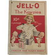 1915 Jell-O and the Kewpies Recipe Booklet Cookbook Rose O'Neill Color Illustrations Jello