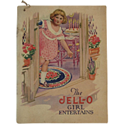 The Jell-O Girl Entertains Recipe Booklet Cookbook with Rose O'Neill Kewpie Illustrations