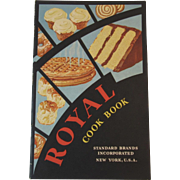 1932 Royal Baking Powder Cook Book Cookbook