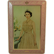 1953 Queen Elizabeth Coronation Tin by Edward Sharp & Sons England English