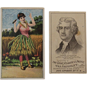 The Great Atlantic & Pacific Tea Company Victorian Trade Cards