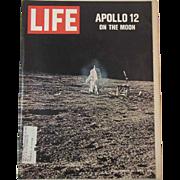 Life Magazine Apollo 12 on the Moon December 12, 1969