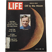 Life Magazine Special Issue Off to the Moon July 4, 1969