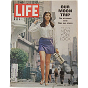 Life Magazine Our Moon Trip August 22, 1969