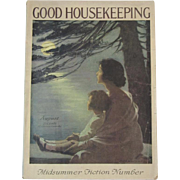Good Housekeeping Magazine August 1921