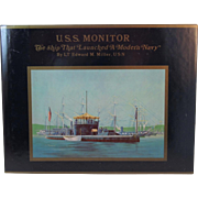 USS Monitor The Ship that Launched a Modern Navy by LT Edward Miller, USN Civil War Book Naval History