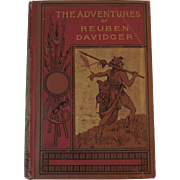 1866 The Adventures of Reuben Davidger Book by James Greenwood Seventeen Years and Four Months Captive Among the Dyaks of Borneo