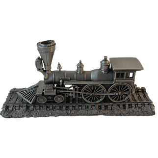 The General Locomotive Die Cast Pewter Replica Miniature on Track 1:90 Scale
