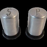 Spun Aluminum Salt and Pepper Shakers Made in USA