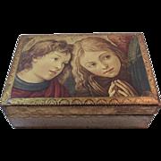 Italian Florentine Box Florentia Decorative Keepsake