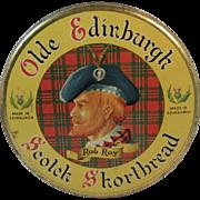 Olde Edinburgh Rob Roy Scotch Shortbread Litho Tin from Edinburgh and Dumfriesshire Dairy Co Ltd Scottish Scotland Tartan Plaid