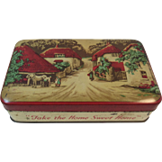 English Cottage Blue Bird Toffee Tin from Harry Vincent Ltd Take the Home Sweet Home