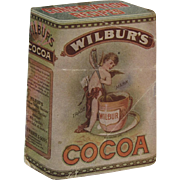 Wilbur's Cocoa Conservation Recipes Miniature Cookbook Maud Mousey Fangel Illustrations
