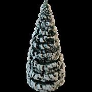 West German Erzgebirge Wood Christmas Tree Hand Made Kunsthandwerk Germany