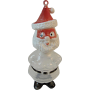 Santa Candy Container Vintage Christmas
