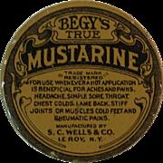 Begy's True Mustarine Salve Tin