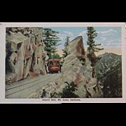 Postcard Granite Gate, Mt. Lowe, California