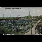 Postcard, circa 1911, Electric Railway Bridge, Painesville, Ohio