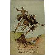 Valentine's Postcard – Irish Jaunting Car