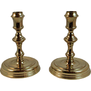 Baldwin Brass Candlesticks Forged in America Candle Holders Sticks