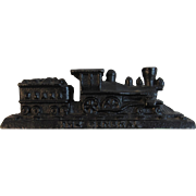 The General Train Locomotive Cast Iron Paperweight Civil War Great Chase Engine