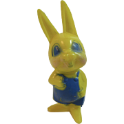 Corwin Plastics Easter Bunny Boy in Blue Vintage Toy