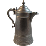 RWP Wilton Pewter 8 Inch Flagon Matte Finish Teapot