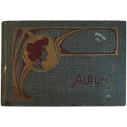 Art Nouveau Postcard Album