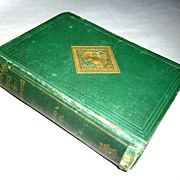 1867 H/C Book Dombey & Son - Charles Dickens - Ticknor and Fields