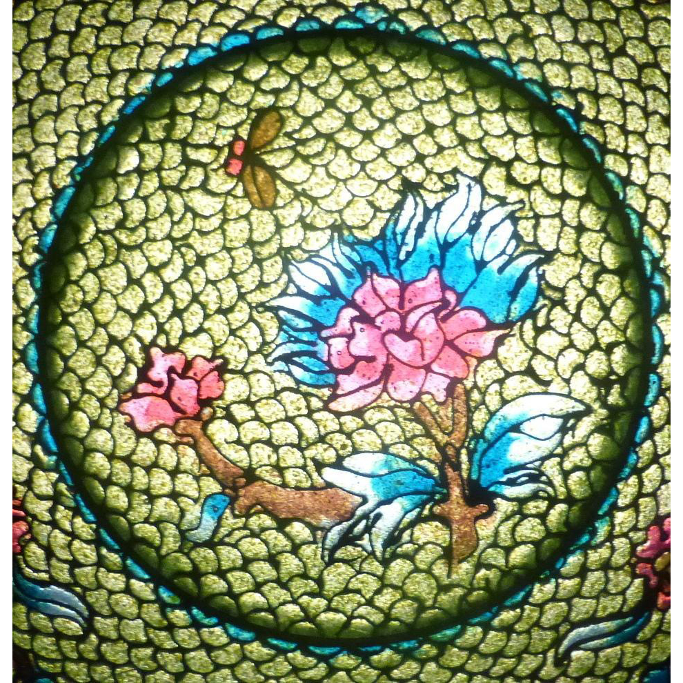 Vintage Japan Shotai Shippo / Plique A Jour Lace Cloisonne Bowl Plate w/ Stand