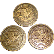 1995 Republican Inaugural Gala Commemorative Coins Dole Newt Leavitt Barbour