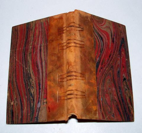 Rare Antique France A. Brizeux Poetry MARIE Petite Collection Rose Book