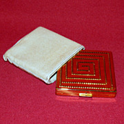 Elizabeth Arden Gold Tone Compact - Red Tag Sale Item