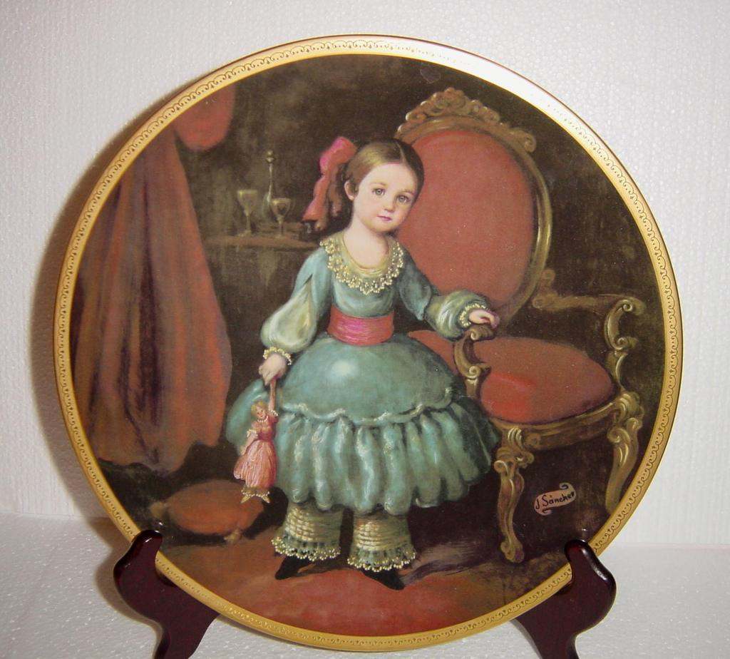 Pickard's Children of Mexico 'Regina' Limited Edition Collector Plate