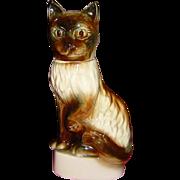 Jim Beam Burmese Siamese Cat Whiskey Decanter